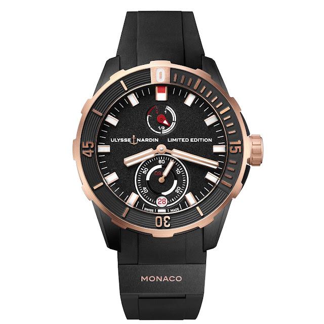 Ulysse Nardin Diver Chronometer Monaco