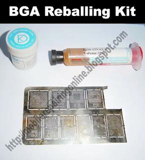 BGA kit for mobile