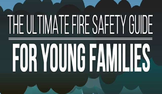 +86 Hours of Research Led to this Infographic on Fire Safety for Kids #infographic