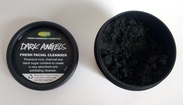 Lush, Dark Angels, Cleanser, charcoal, rhassoul