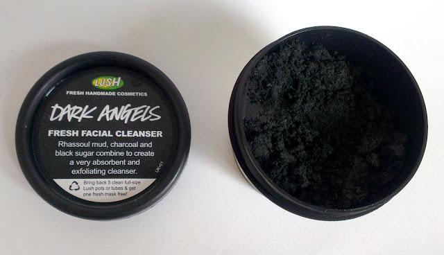 Lush, Dark Angels, Cleanser, charcoal, rhassoul