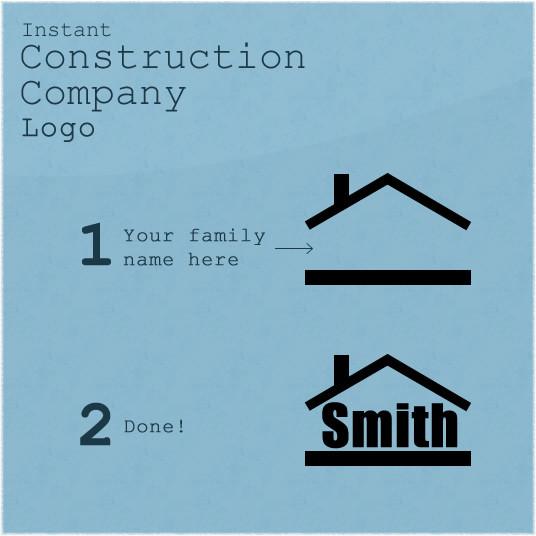 logotipos de construcción