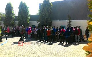 Ribuan Pemohon Suket Penuhi Pengadilan Negeri Bojonegoro