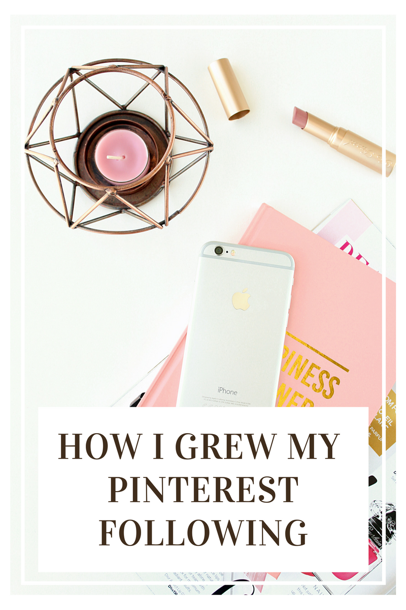 How I Grew My Pinterest Following | Life in Excess Blog