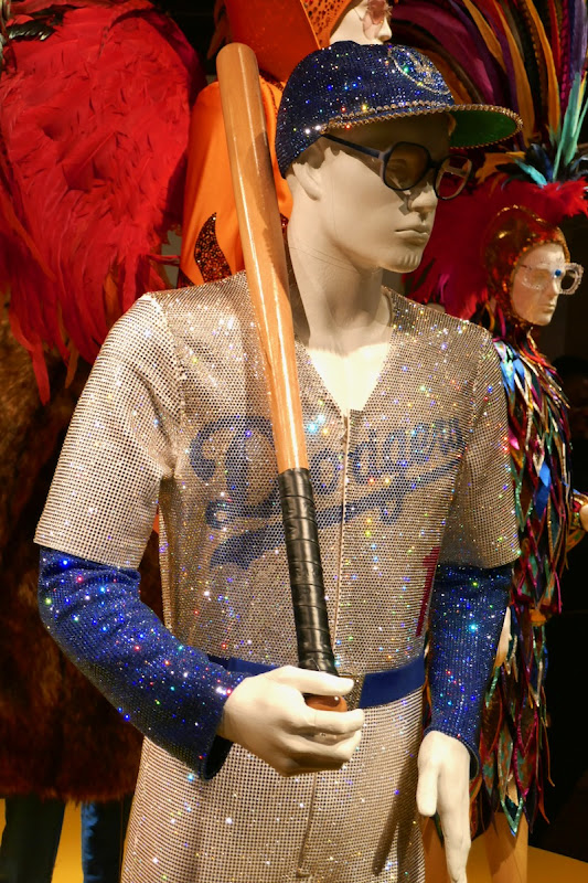 Elton John Rocketman LA Dodgers movie costume