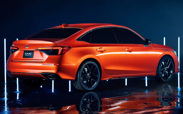 Novo Honda Civic 2022: fotos e detalhes oficiais