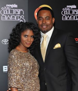 Kevin Boutte with his wife Denise Boutte