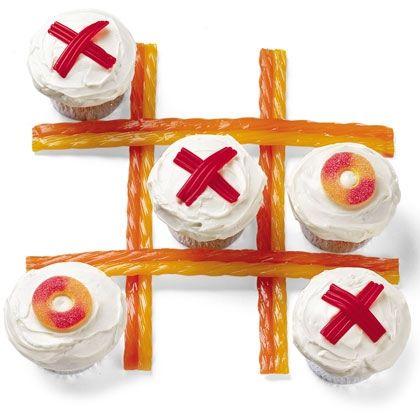 Tic Tac Yum Cupcakes Recipe