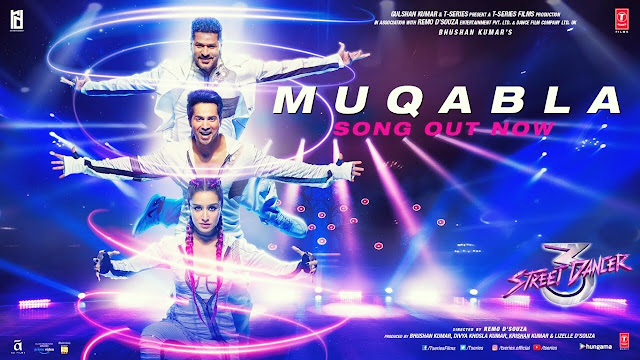 Muqabla Lyrics - Street Dancer 3D, A. R. Rahman,
