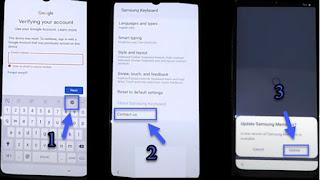 FRP Bypass Samsung A30s SM-A307