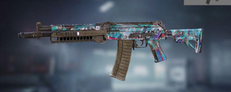 AK117 Blue Graffiti