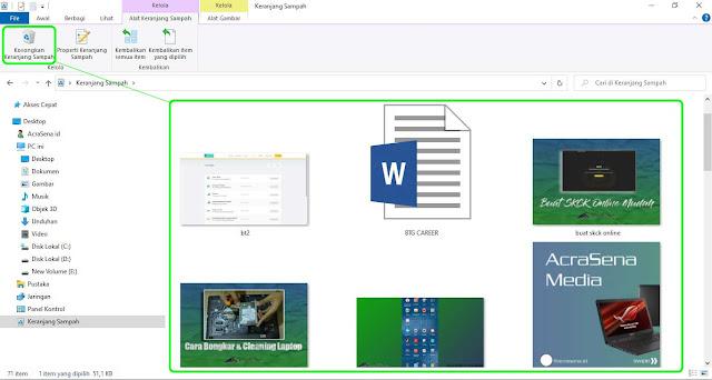 Cara Membersihkan File Sampah Harddisk atau SSD dengan mudah