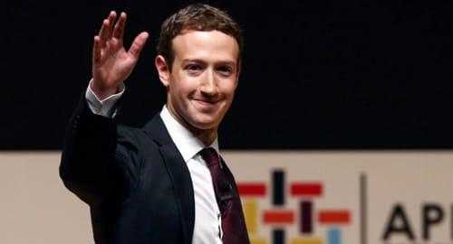 Mark Zuckerberg's data appeared in Facebook leaks