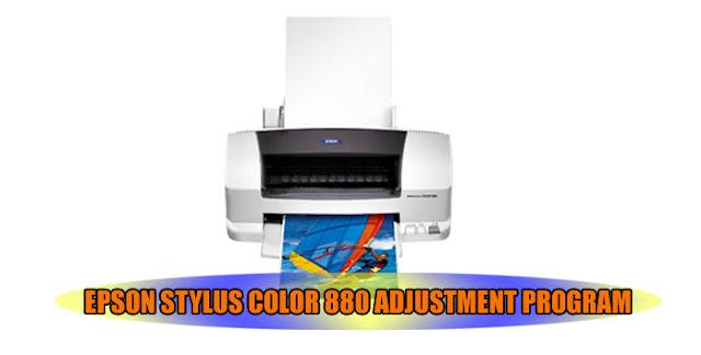 Epson Stylus Color 880 Printer Adjustment Program