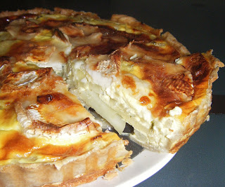 Goat's Cheese, Potato and Thyme Tart