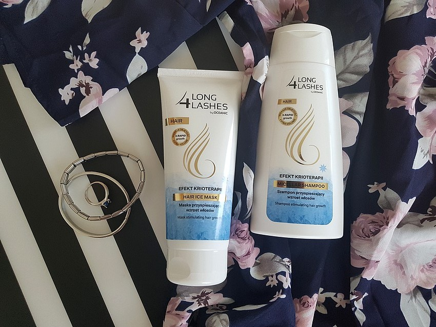 szampon i maska do włosów