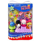 Littlest Pet Shop 3-pack Scenery Poodle (#152) Pet