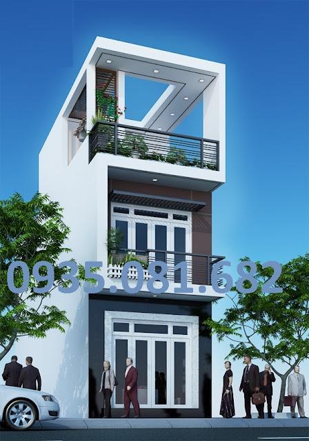 mẫu nhà 3 tầng hiện đại