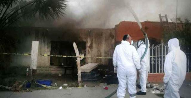 Incineran casa infestada de garrapatas tras muerte de tres miembros de una familia