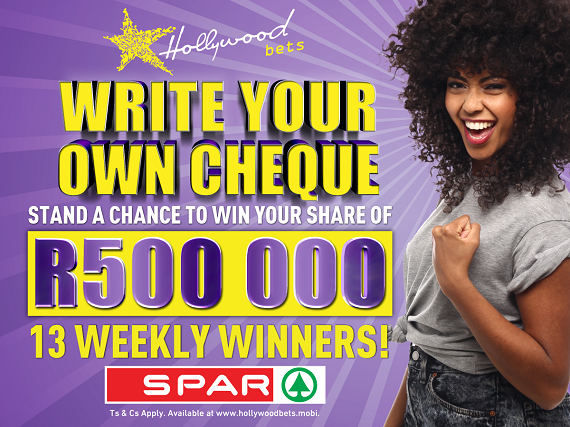SPAR Write Your Own Cheque Terms and Conditions