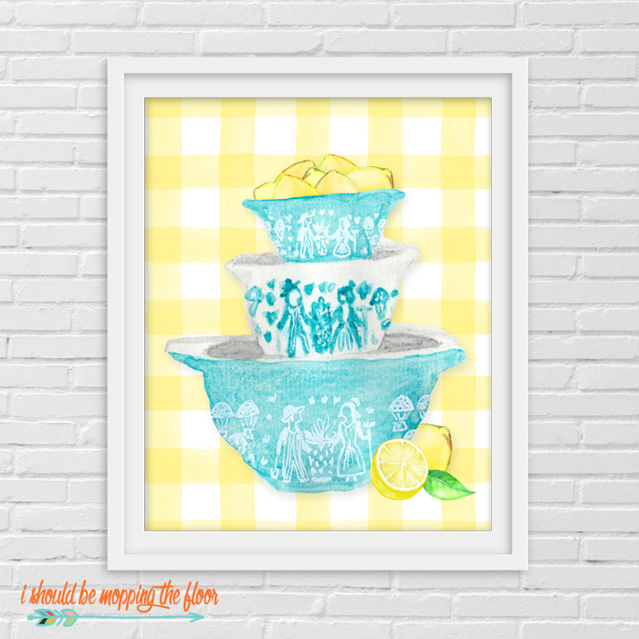 Pyrex Amish Butterprint