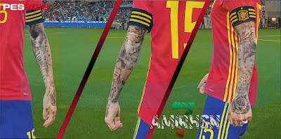 PES 2018 Mega Tattoopack Vol 2.0 by Amir.Hsn7