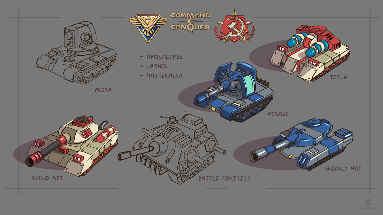 red alert 2 tanks