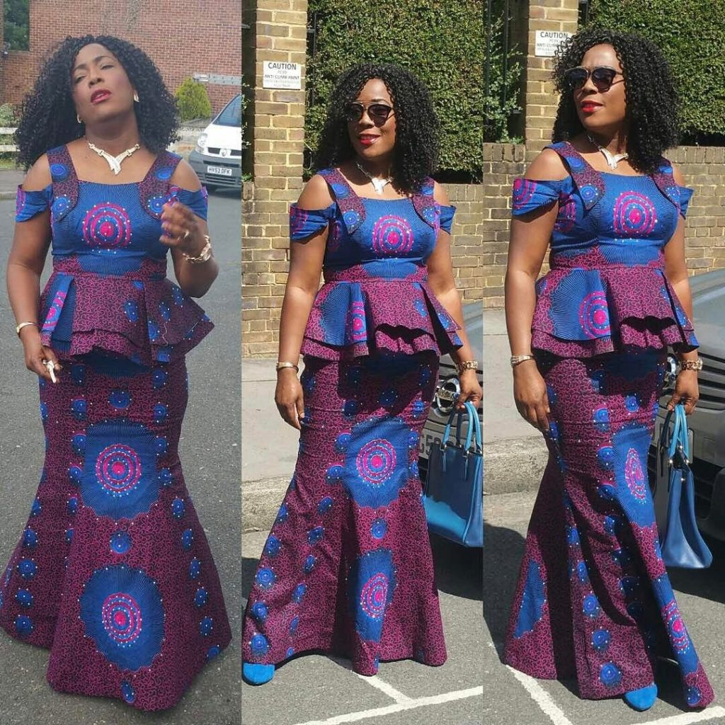Pictures Of Ankara Skirt And Blouse Styles Best Blouse 2017