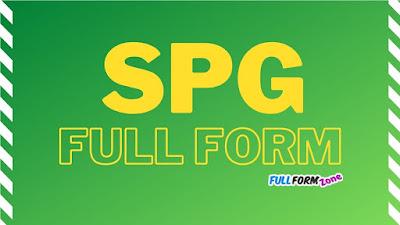 SPG Full Form