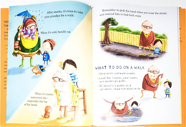 How to Babysit a Grandpa - an excellent mentor text for writing how-to books.