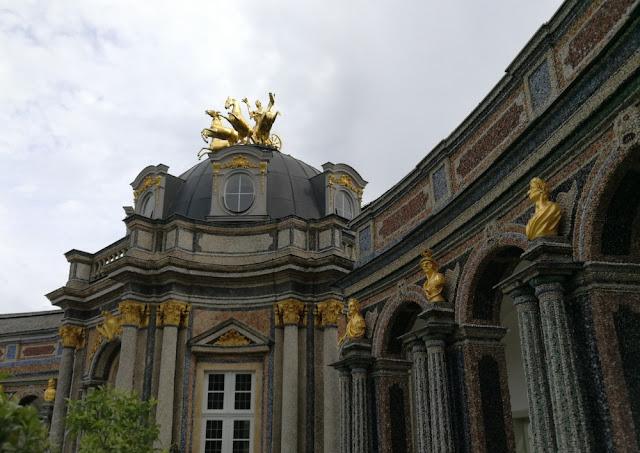 Eremitage Bayreuth - Neues Schloss mit Sonnentempel