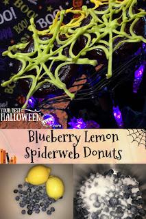 best blueberry lemon donuts recipe for halloween