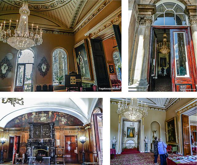 Decoração do Town Hall (Prefeitura) de Liverpool