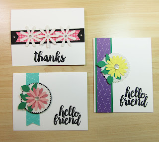 "Easy card layouts with designer paper featuring Stampin'UP!'s retiring Leaf Punch, Starburst Punch and Sparkle Glimmer Paper and big bold sentiment stamps from the retiring ""Seriously the Best"" stamp set"