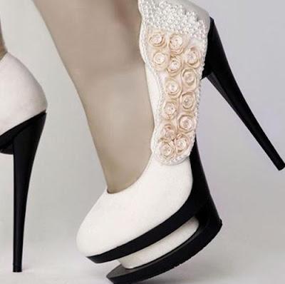 fotos de Zapatos blancos