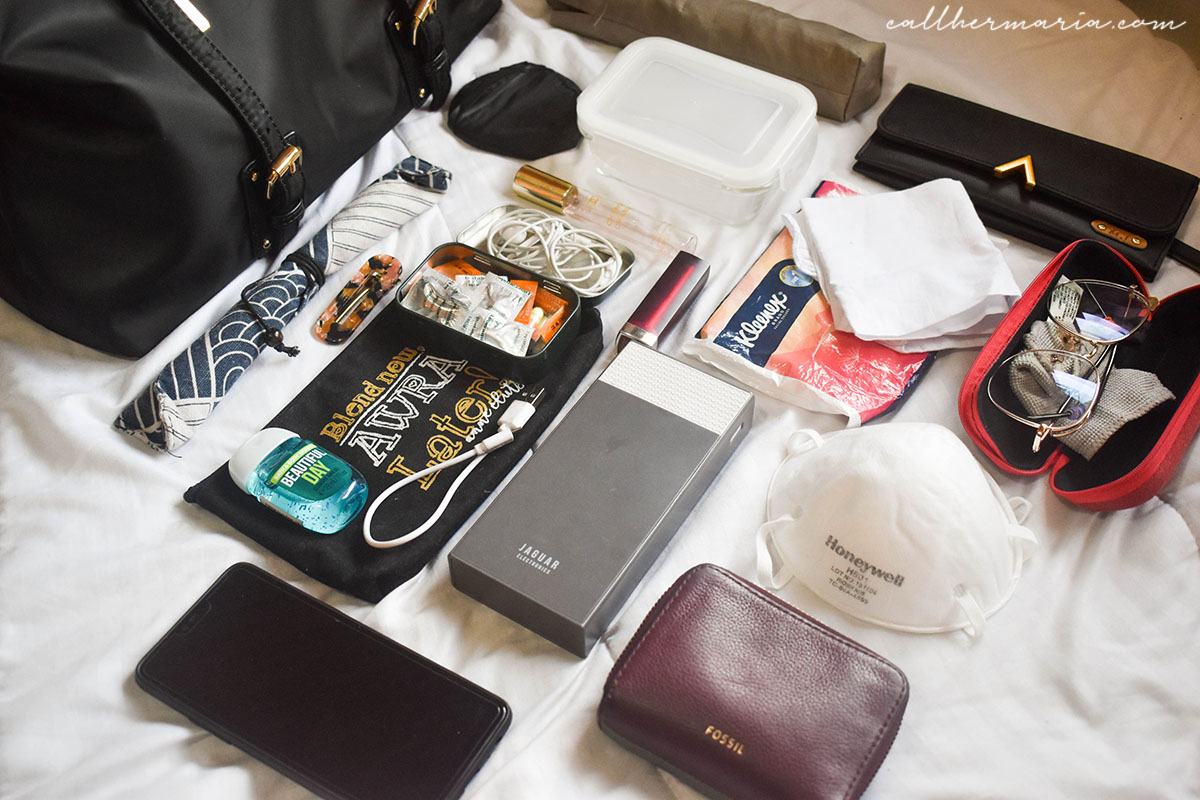 What's in my Bag with ALT Manila London Bag - Main Compartment Items