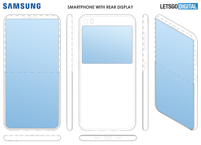 Samsung Dual Display Patent