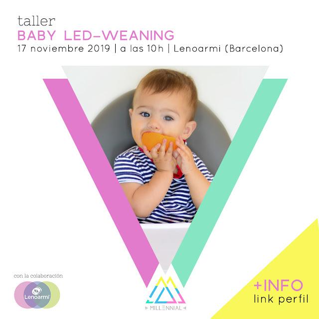 taller sobre alimentación infantil complementaria autorregulada por el bebe taller de blw baby led-weaning