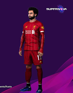 PES 2020 Faces Mohamed Salah by Supernova