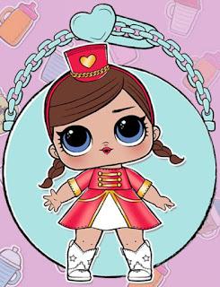 Леди-оркестр кукла ЛОЛ сюрприз в шариках