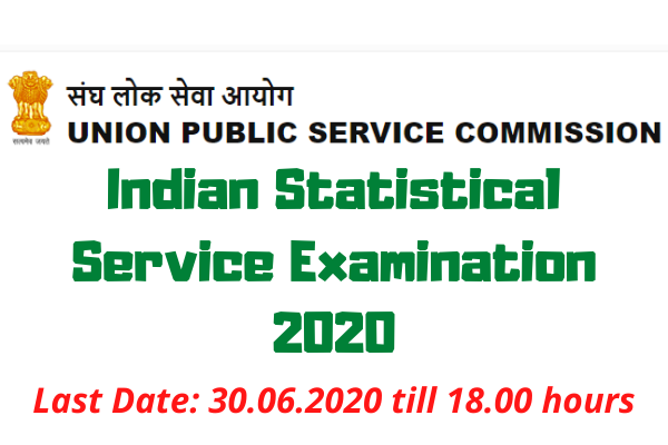 UPSC ISS Exam 2020: Indian Statistical Service Examination 2020
