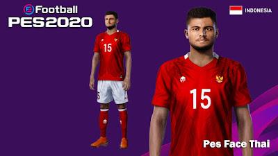 PES 2020 Faces Saddil Ramdani by PESFaceThai