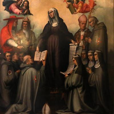 Santa Brígida da Suécia - Imagens, pintura, #2