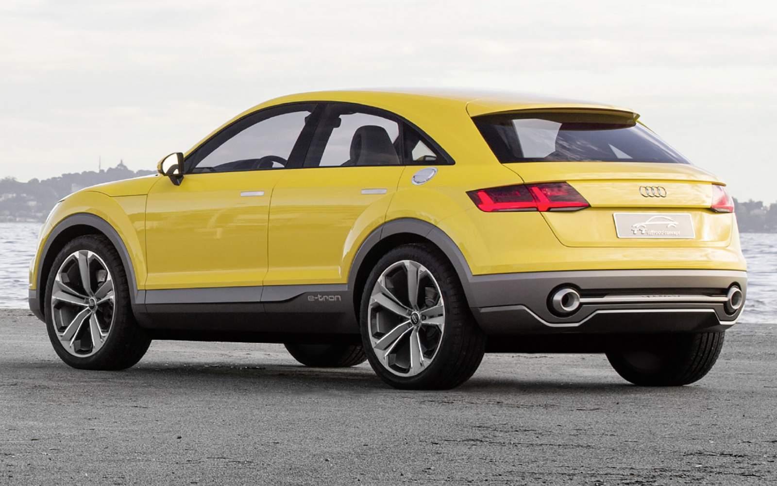 Audi adotará nome Q1 e TTQ em seus novos SUV depois de ...