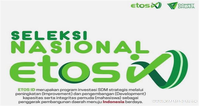 Dibuka Pendaftaran Program Beasiswa ETOS.ID Seluruh Mahasiswa/i di Indonesia
