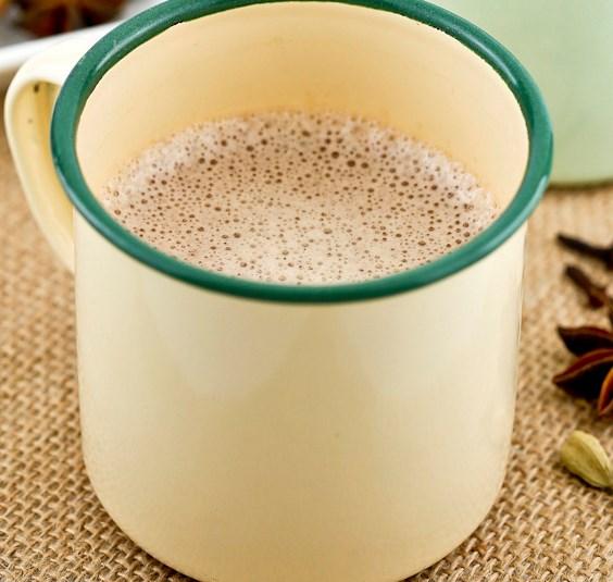 COCONUT CHAI LATTE #drinks #pulledtea