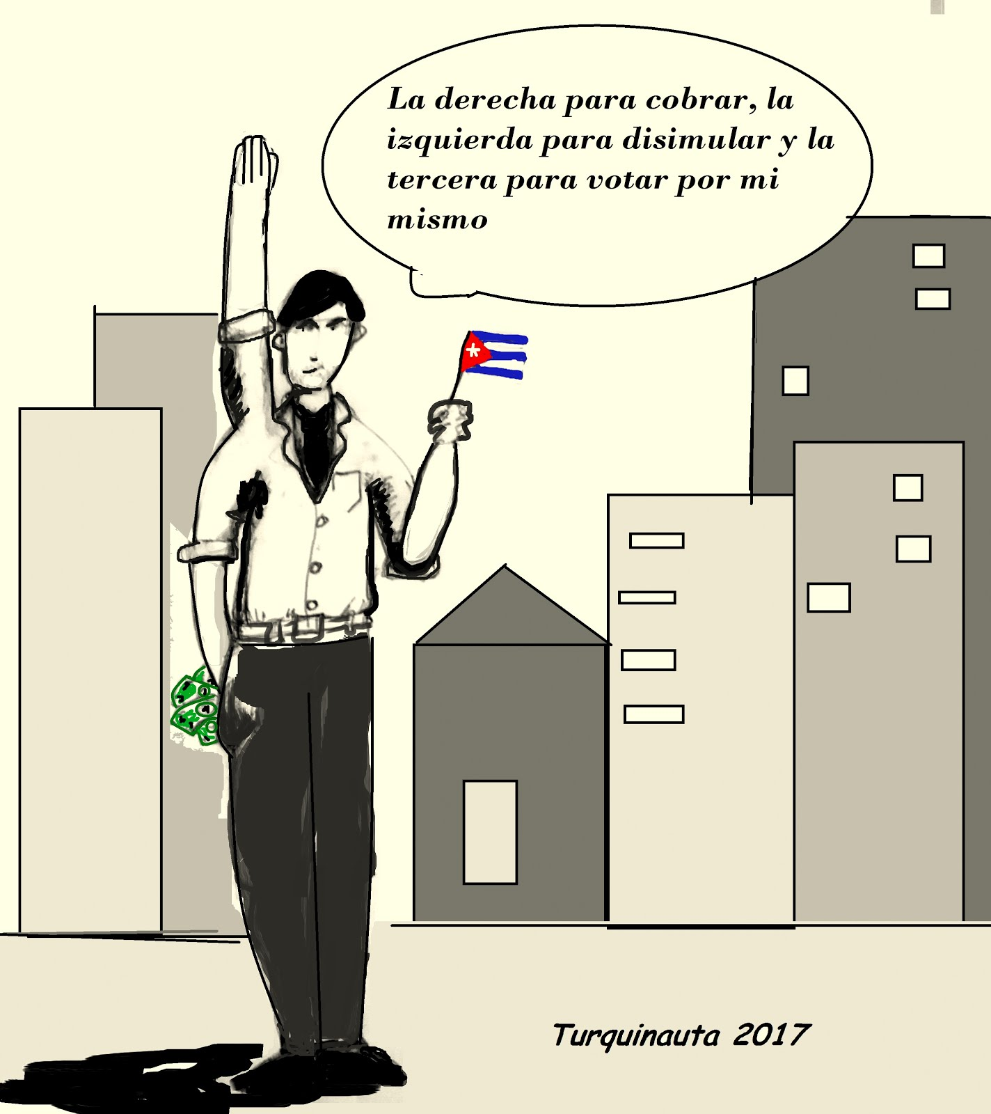 Caricaturas en los blogs