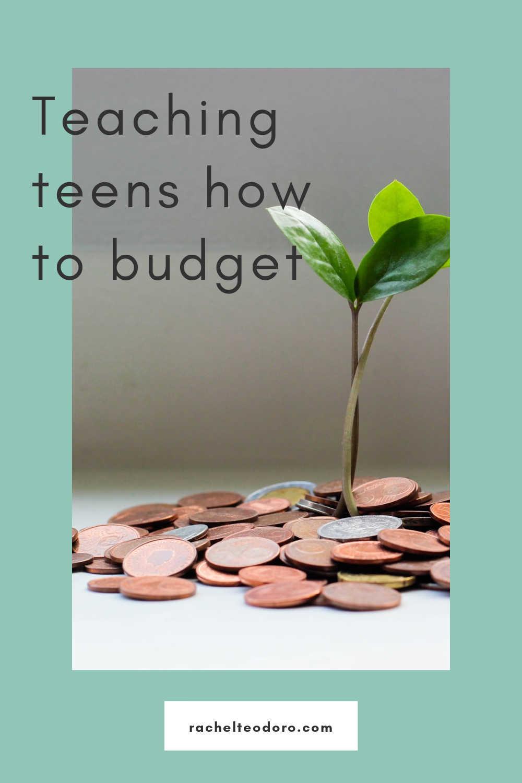 teaching teens how to budget