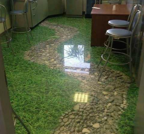 Example Of Epoxy 3D Flooring