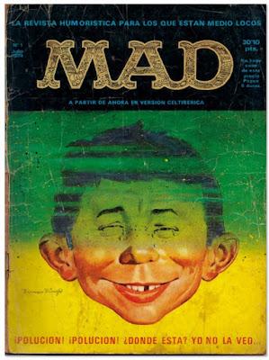 MAD portada de la revista 1974 España comic humor